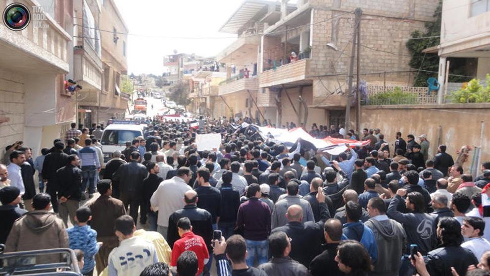 syria201 Кровавые протесты в Сирии