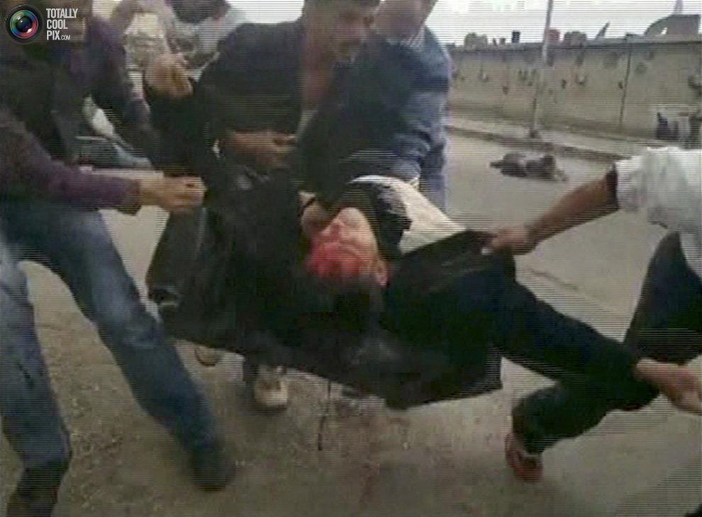 syria321 Кровавые протесты в Сирии