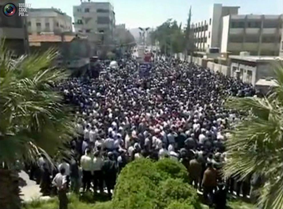 syria351 Кровавые протесты в Сирии