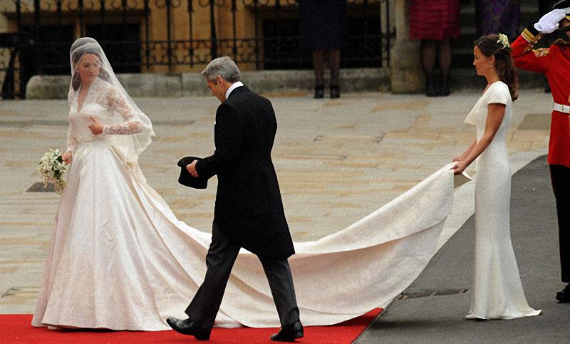 wedding04 Pernikahan Pangeran William dan Kate Middleton mengambil