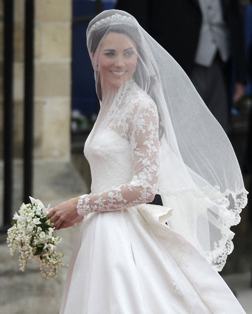 wedding06 Pernikahan Pangeran William dan Kate Middleton mengambil