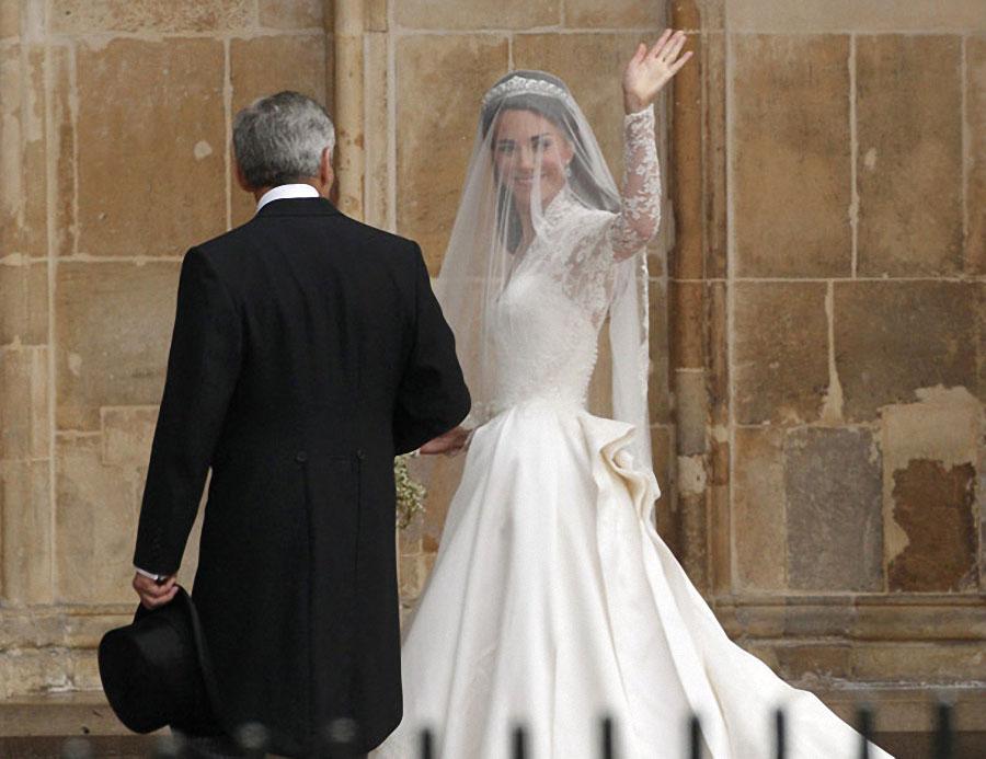 wedding07 Pernikahan Pangeran William dan Kate Middleton mengambil