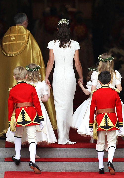 wedding09 Pernikahan Pangeran William dan Kate Middleton mengambil