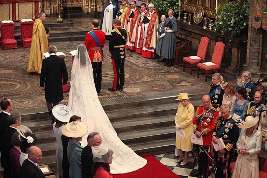 wedding12 Pernikahan Pangeran William dan Kate Middleton mengambil