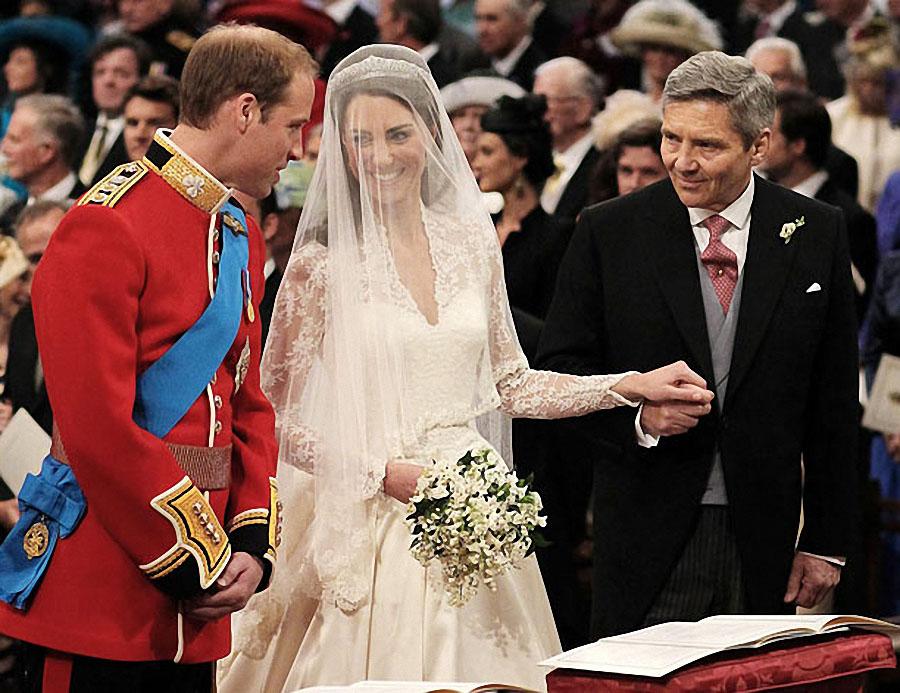 wedding14 Pernikahan Pangeran William dan Kate Middleton mengambil