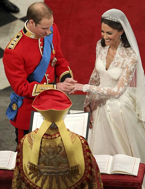 wedding16 Pernikahan Pangeran William dan Kate Middleton mengambil