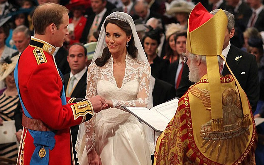wedding18 Pernikahan Pangeran William dan Kate Middleton mengambil