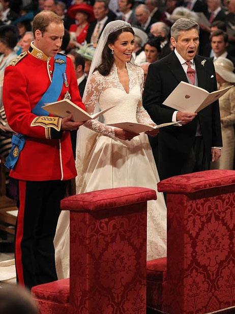 wedding19 Pernikahan Pangeran William dan Kate Middleton mengambil