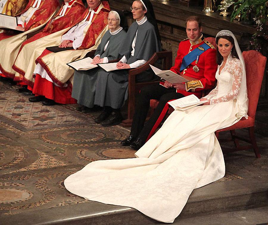 wedding20 Pernikahan Pangeran William dan Kate Middleton mengambil