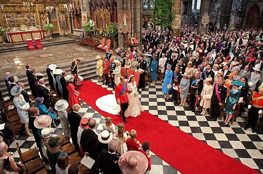 wedding22 Pernikahan Pangeran William dan Kate Middleton mengambil