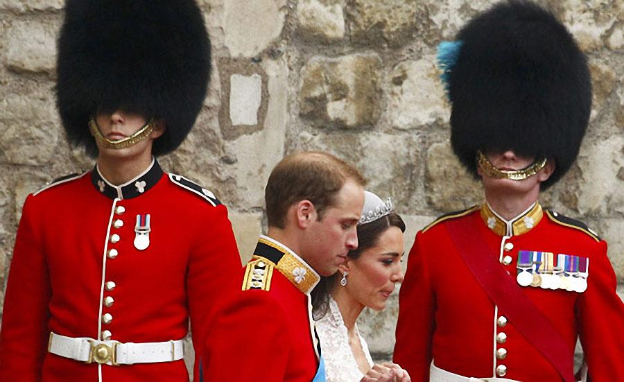 wedding25 Pernikahan Pangeran William dan Kate Middleton mengambil