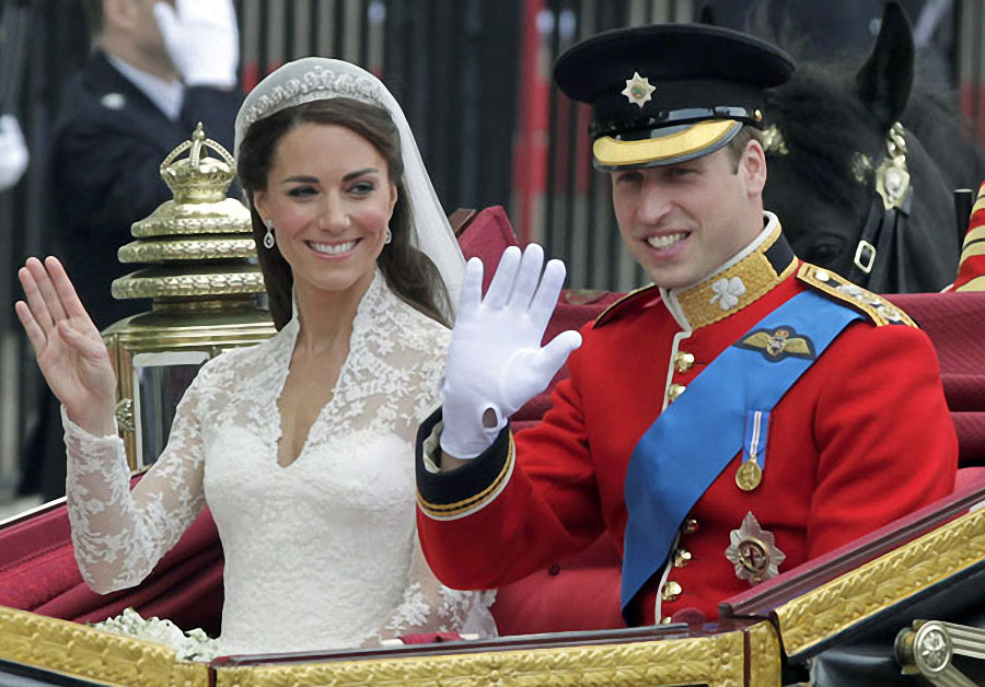 wedding26 Pernikahan Pangeran William dan Kate Middleton mengambil