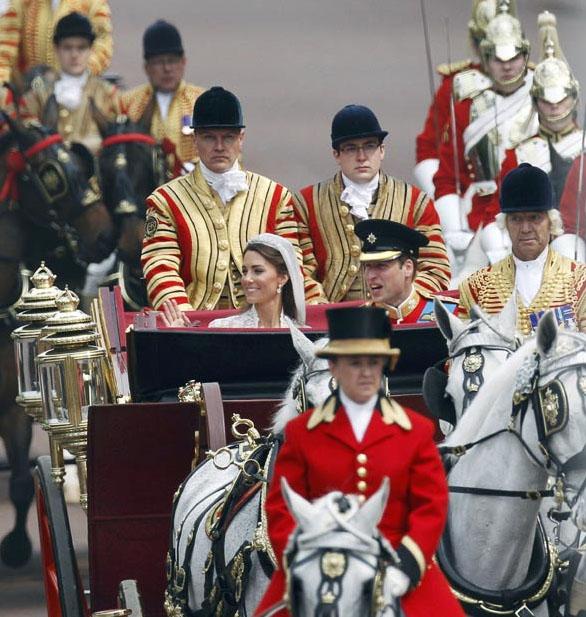 wedding28 Pernikahan Pangeran William dan Kate Middleton mengambil