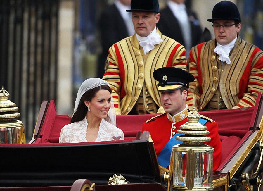 wedding29 Pernikahan Pangeran William dan Kate Middleton mengambil