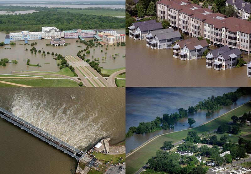 Миссисипи угрожает США величайшим потопом