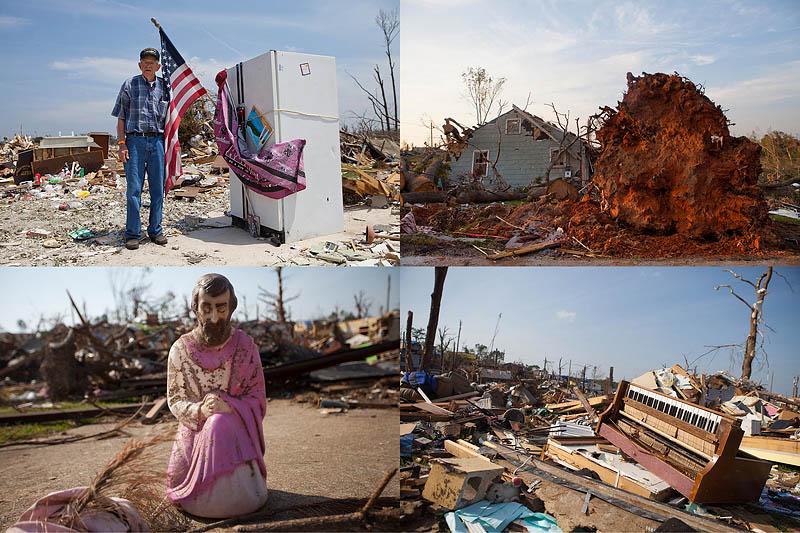000061 Алабама через три недели после удара стихии