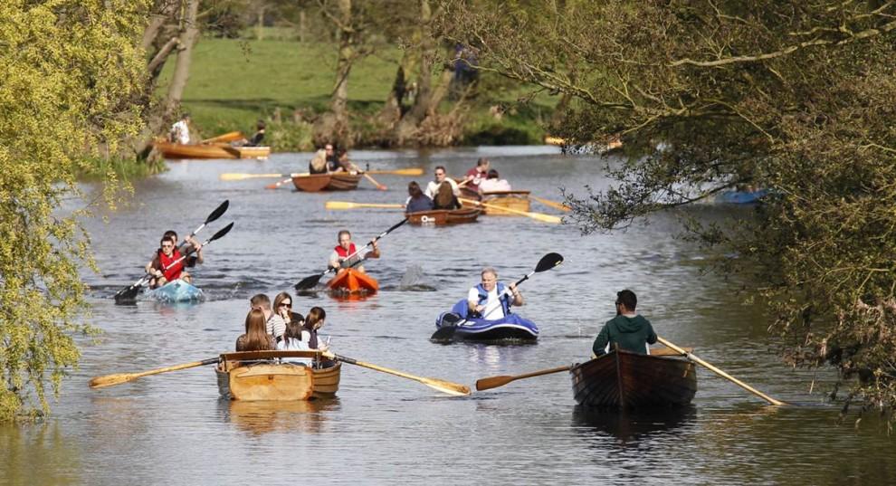 правила плавания на лодке по реке