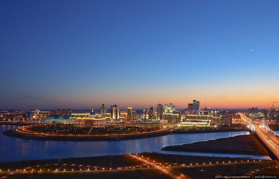 Казахстан: Астана с высоты (Часть 1)