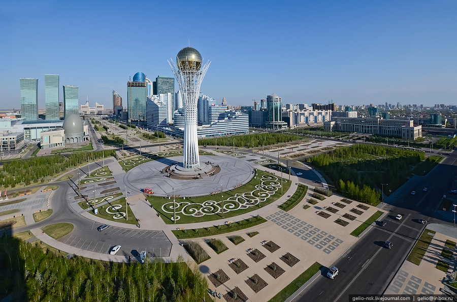 Казахстан: Астана с высоты (Часть 2)