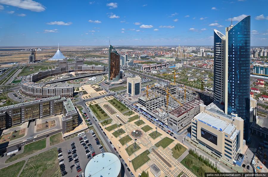 Республика Казахстан. Панорамы Астаны (2011) Часть 3
