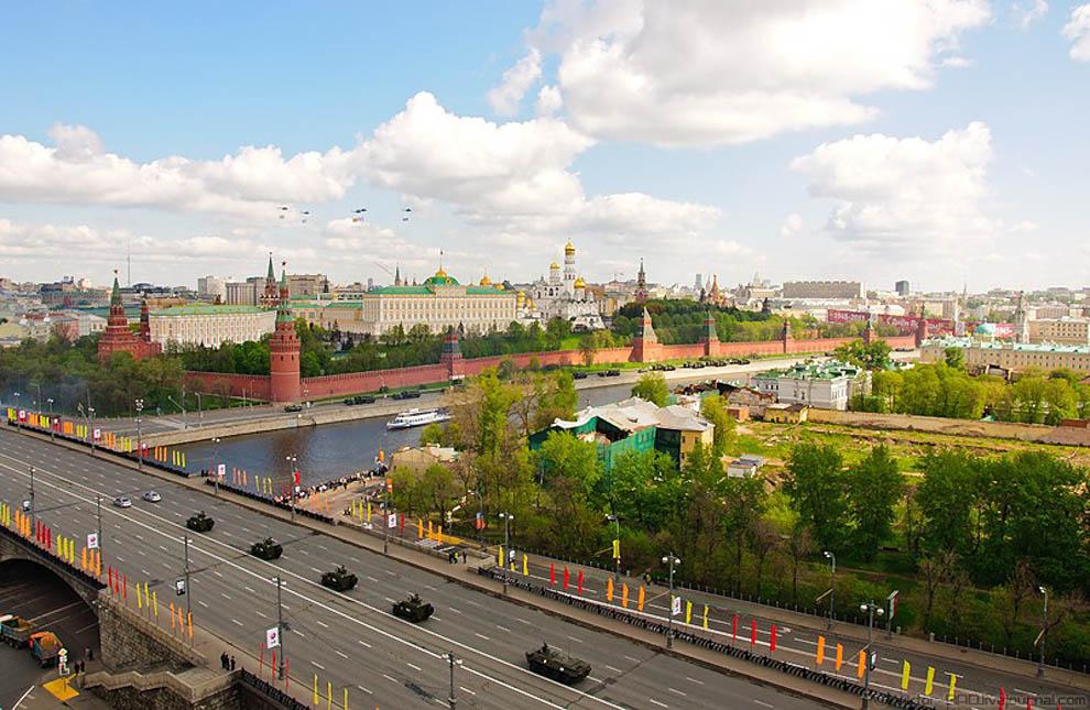 Парад 9 мая 2011 в Москве