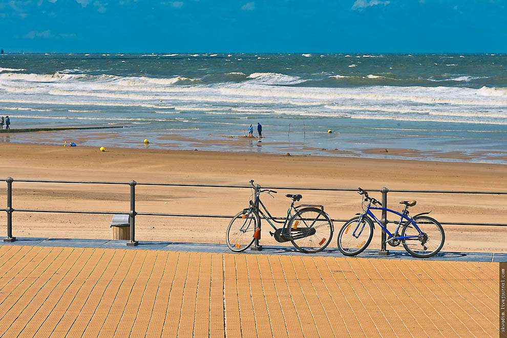 Бельгия, Северное море