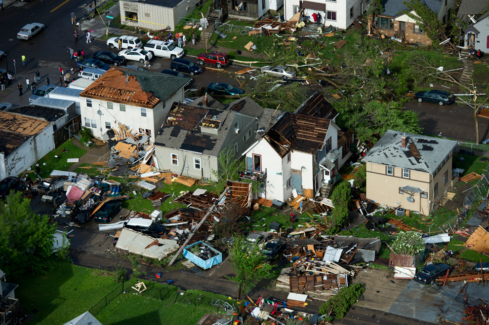 16126 Новый торнадо в США