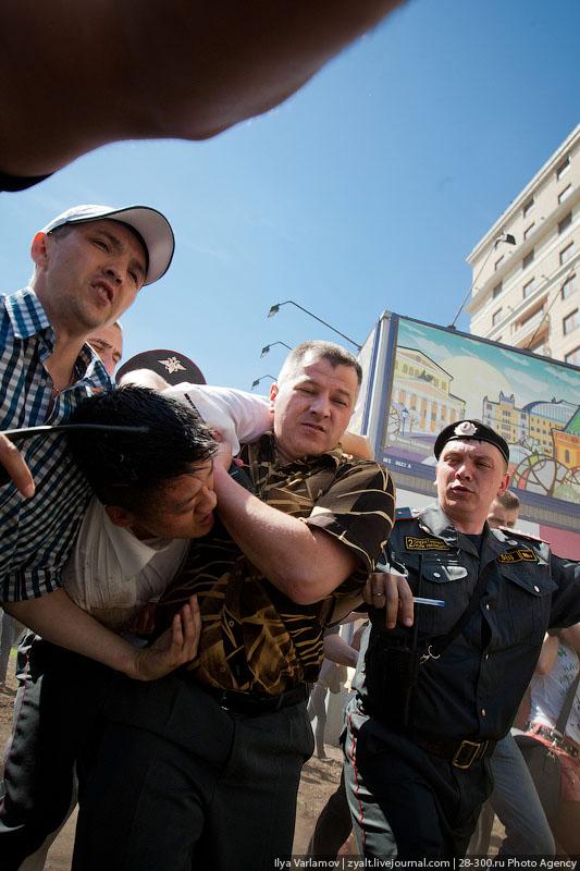 21164 Несостоявшийся гей парад в Москве
