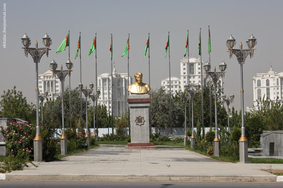 Ашгабат - беломраморный город-сад и столица Нейтрального Туркменистана