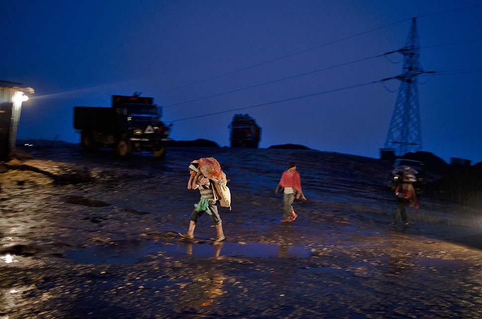 Индийские угольные города