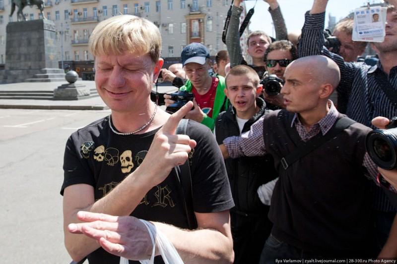 Несостоявшийся гей-парад в Москве