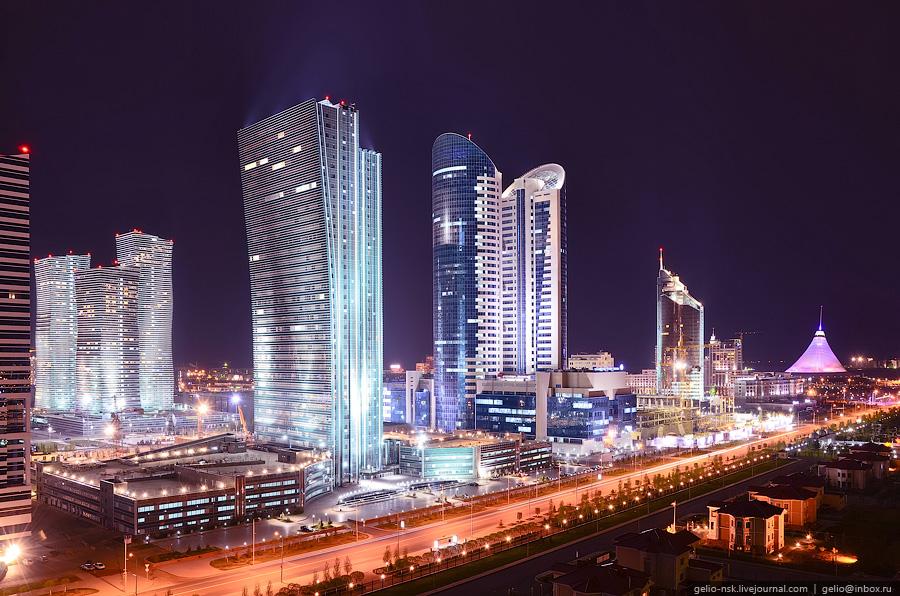 Казахстан: Астана с высоты (Часть 3)