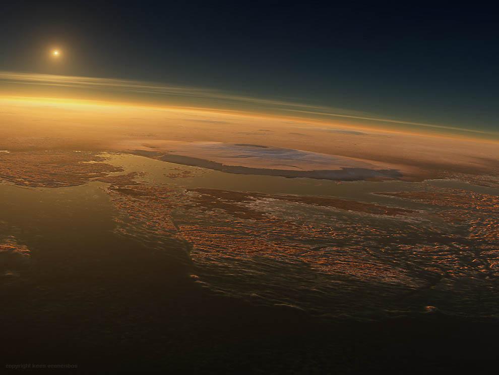 Утро на марсе фото