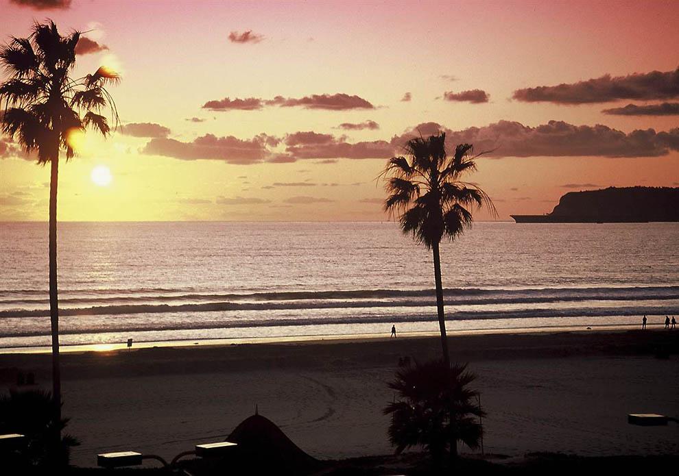 ТОП-10 лучших американских пляжей