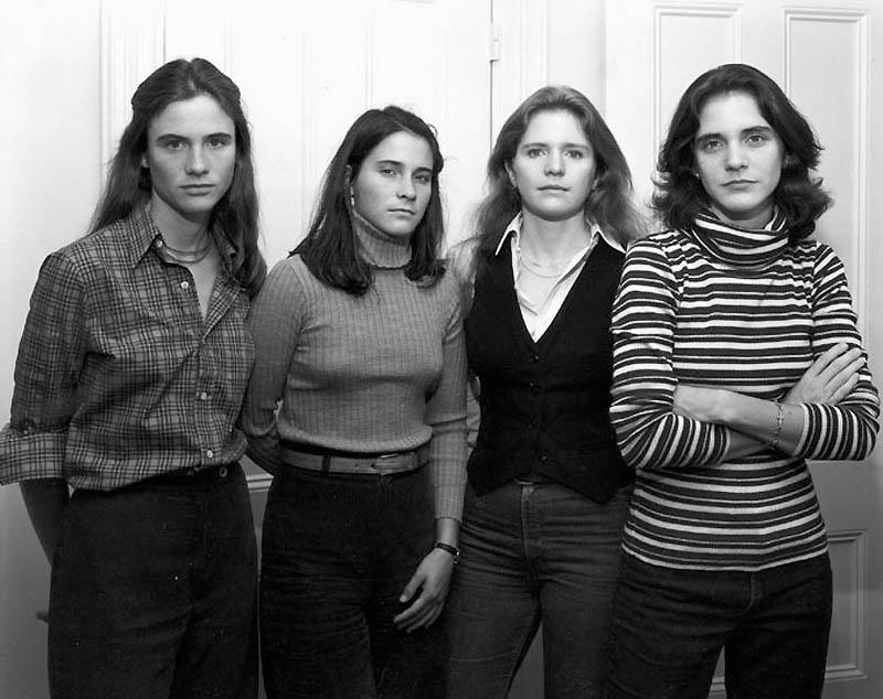 NICHOLAS NIXON - THE BROWN SISTERS