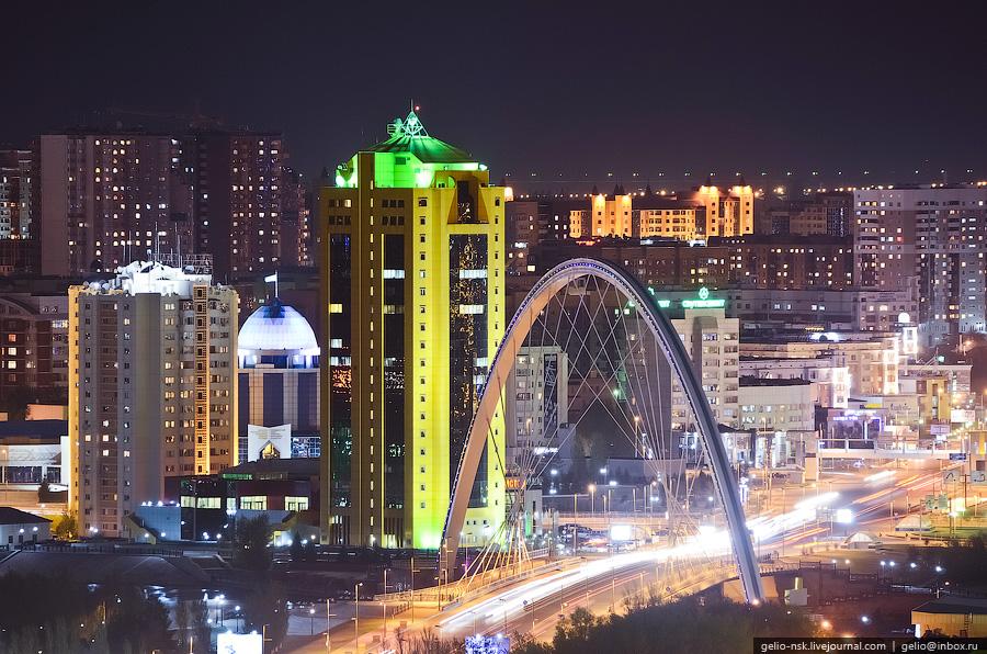 Столица Казахстана. Астана с высоты (2011) Часть 2