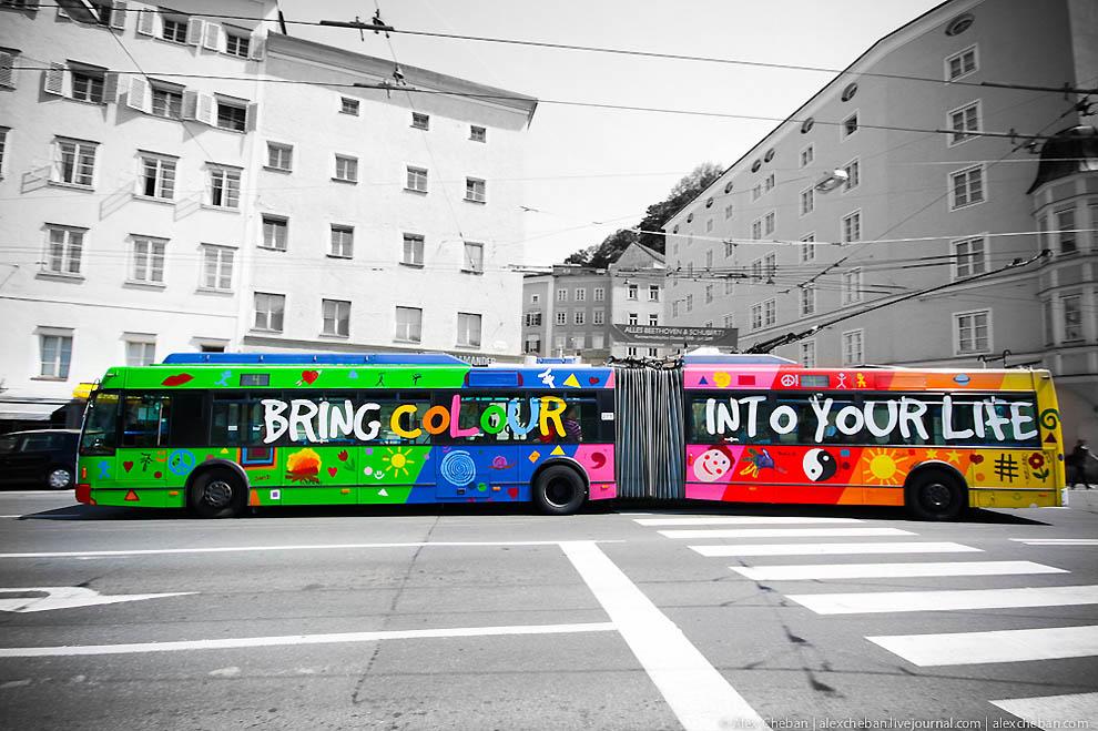 """ТОП-10: """"Цветные города мира"""""""