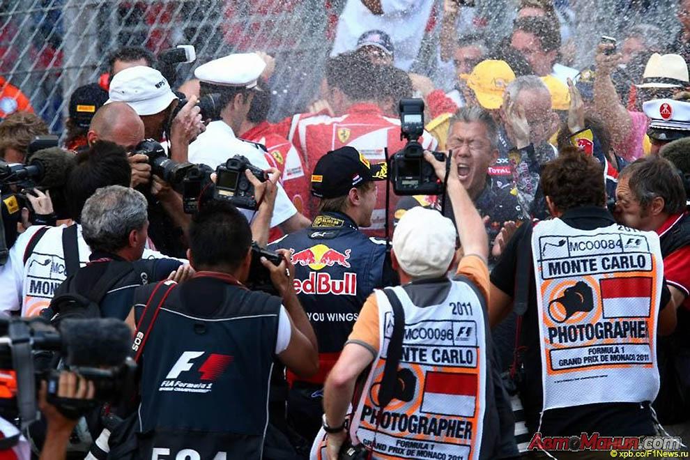 За кулисами Формулы-1, Монако 2011: гонка