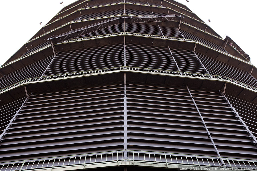 Газометр в Оберхаузене. Германия
