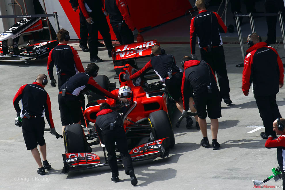 Фотографии Формулы-1: за кадром подготовки к Турции