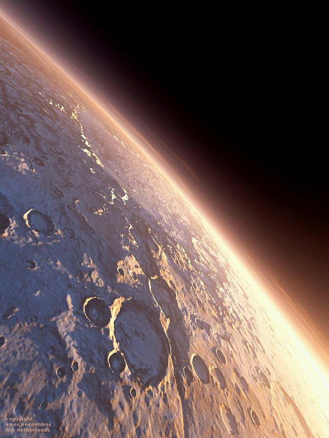 Поразительные красоты Марса