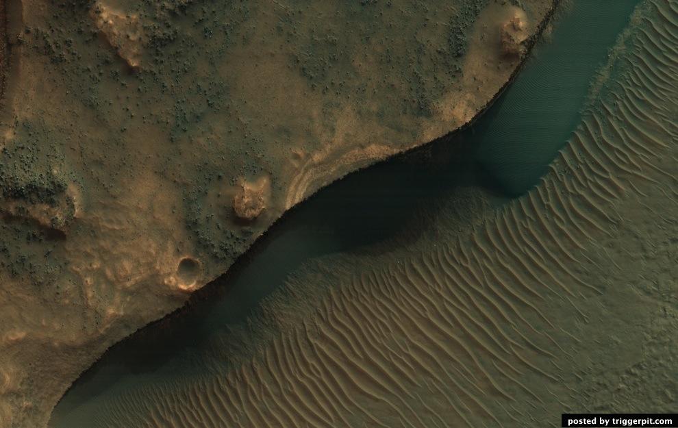 Полноцветная планета Марс