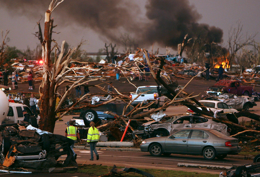 8138 Новый торнадо в США