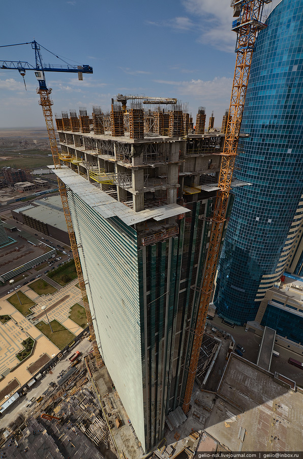 Казахстан. Астана с высоты (2011) Часть 1