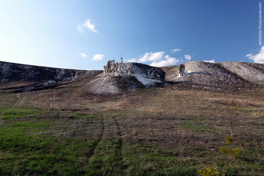 Пещерные монастыри в Воронежской области (Костомарово и Дивногорье)