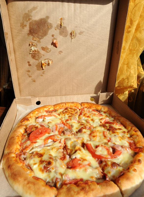Пицца на заказ более вредна