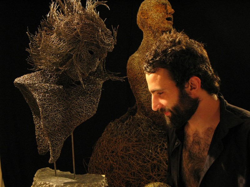 mattia 800x600 Воздушное железо скульптора Маттиа Тротта