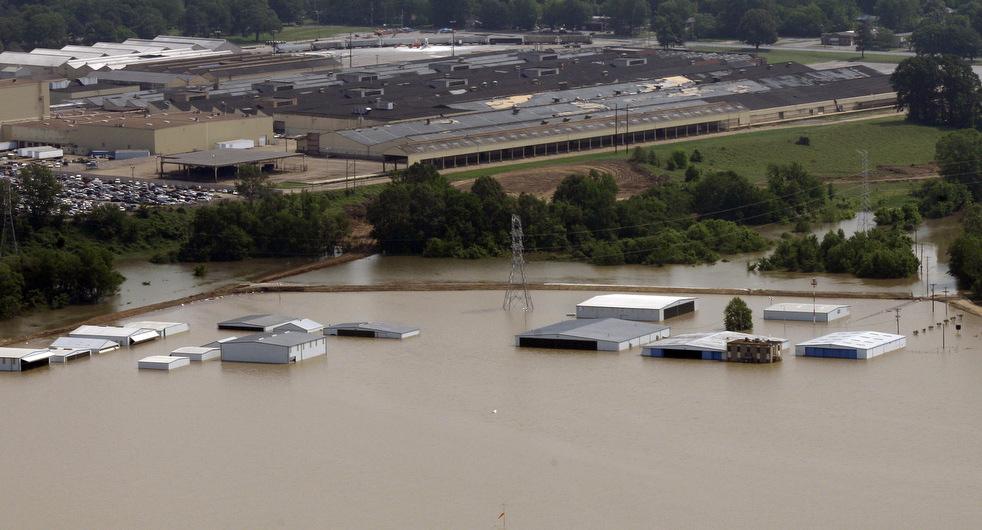 memphis9 Миссисипи угрожает США величайшим потопом