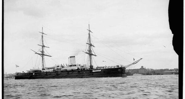 Корабли и офицеры ВМФ Российской империи 1893года