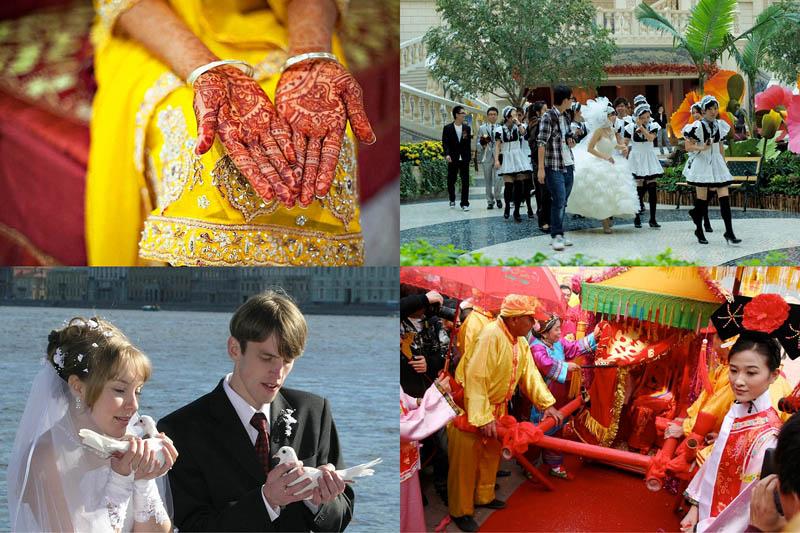 Свадебные традиции разных странмира